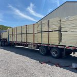 Truckloads of Polyisocyanurate Panels